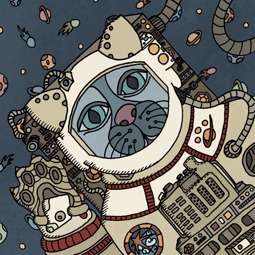 The Astronaut Cat